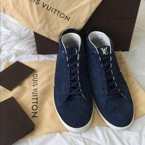 Louis Vuitton Suede Hightops